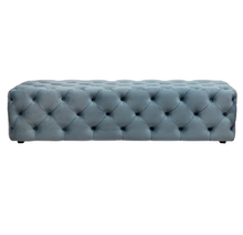 Load image into Gallery viewer, Martine Button Tufted Bench Ottoman – 3 Colour Options
