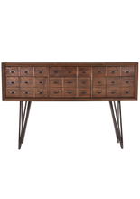 Load image into Gallery viewer, Apothecary Console Table
