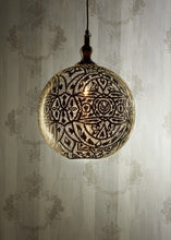 Load image into Gallery viewer, Silver Ball Ceiling Lamp 40cm