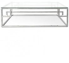Load image into Gallery viewer, Adern Stainless Steel Coffee Table