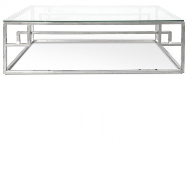 Adern Stainless Steel Coffee Table