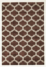Load image into Gallery viewer, Printed Trellis Rug – Soft (5 Colours avail)