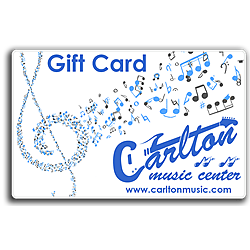 Carlton Music Center $100 Gift Card (In-Store Use Only)