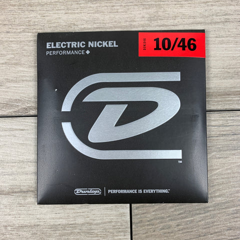 Dunlop Performance+ Nickel Wound Electric Guitar Strings 10-46, Light