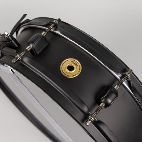 "Tama Metalworks LTD 14""x4"" Snare Drum, Matte Black"