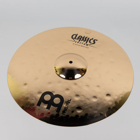 "Meinl Brilliant 19"" Classics Custom Extreme Metal Crash Cymbal"