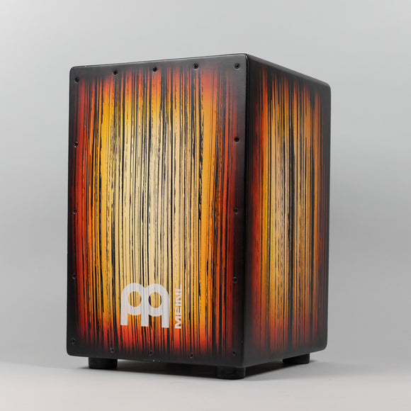 Meinl Headliner Series String Cajon, Tiger Striped Amber