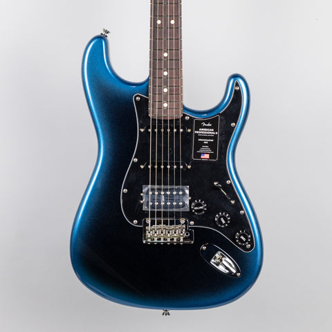 Fender American Professional II Stratocaster HSS in Dark Night