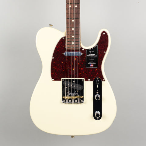 Fender American Professional II Telecaster in Olympic White
