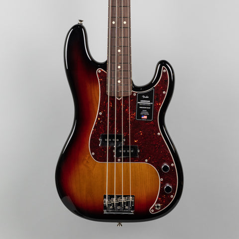 Fender American Professional II Precision Bass in 3-Color Sunburst