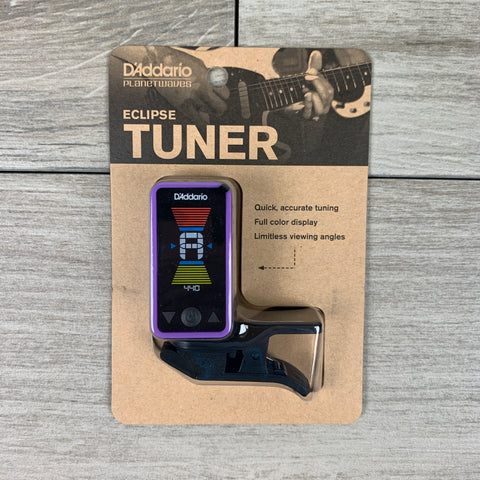 D'Addario Eclipse CT17 Headstock Tuner in Purple
