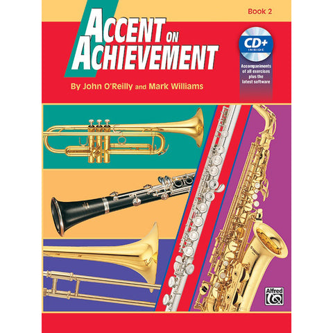 Accent on Achievement Percussion Book 2 (Snare Drum, Bass Drum, & Accessories)