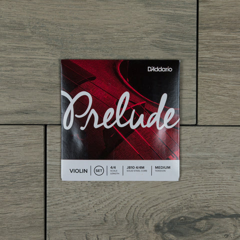 D'Addario JM810 4/4M Prelude Violin String Set, 4/4 Scale Length