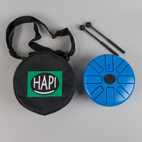 HAPI Drum Tini-Play-Along Steel Tongue Drum