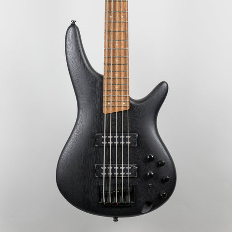 Ibanez SR305EB-WK 5-String Bass Guitar in Weathered Black
