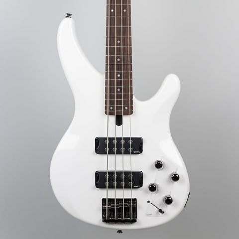 Yamaha TRBX304 4-String Bass Guitar in White