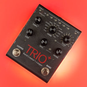 DigiTech TRIO Plus Band Creator + Looper Pedal