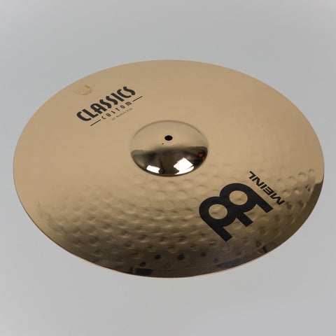 "Meinl 20"" Classics Custom Medium Ride, Brilliant Finish"