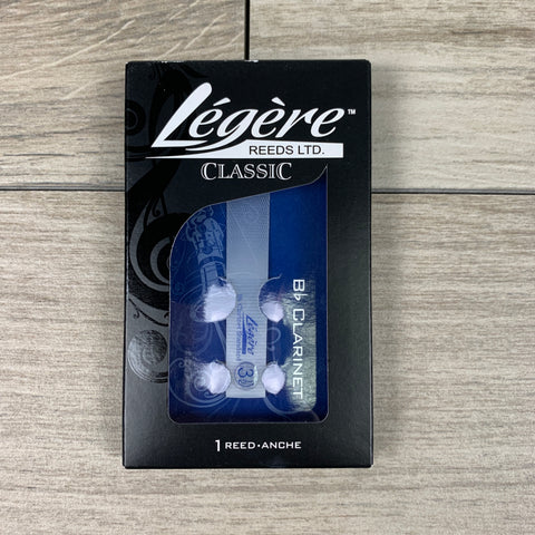 Légère Classic Bb Clarinet Synthetic Reed, Strength 3.5