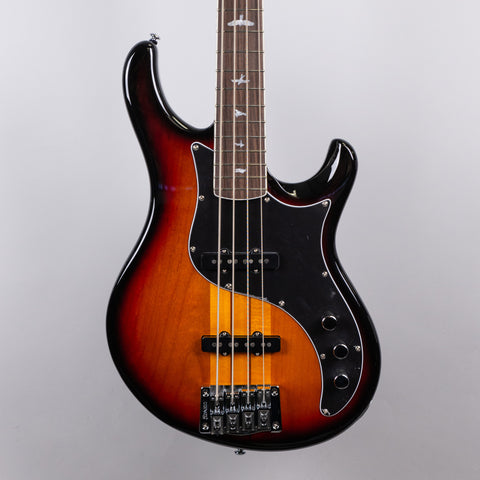 Paul Reed Smith SE Kestrel Bass Guitar in Tri-Color Sunburst