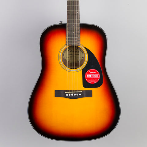 Fender CD-60 Dreadnaught Acoustic Guitar in Sunburst
