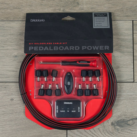 D'Addario DIY Solderless Pedalboard Power Cable Kit