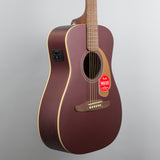 Fender Malibu Player Acoustic/Electric Guitar in Burgundy Satin