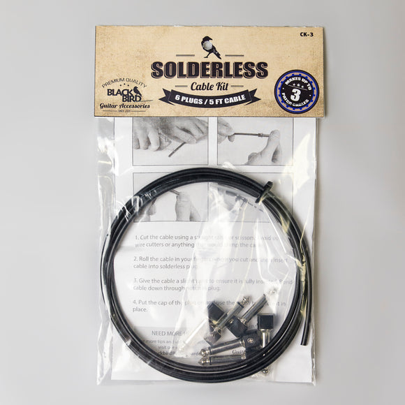 Blackbird 3 Cable Solderless Cable Kit