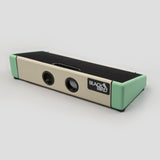 Blackbird Feather Board Custom Ivory/Seafoam Tolex with Gig Bag