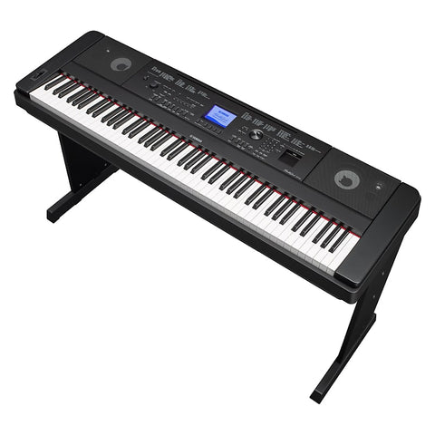 Yamaha DGX660 Digital Piano, 88 Keys with Stand, in Black