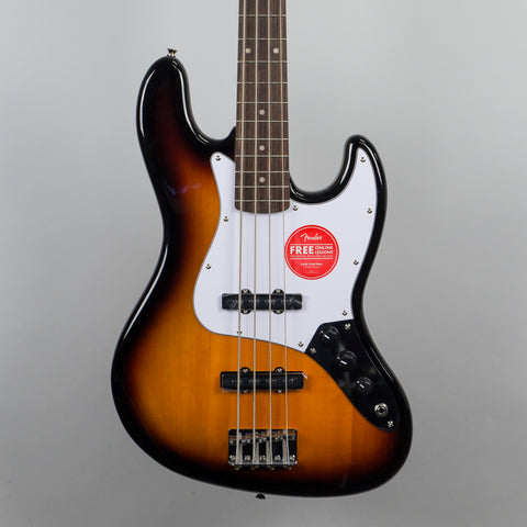 Squier Affinity Series Jazz Bass Guitar in Brown Sunburst
