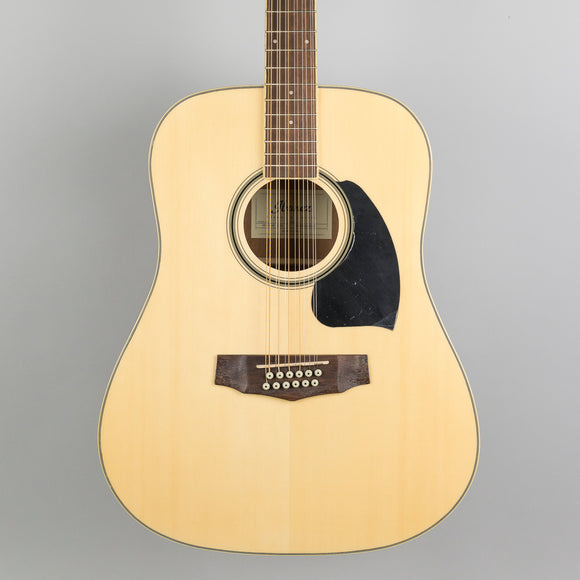 Ibanez Performance 12-String Acoustic Guitar in Natural High Gloss