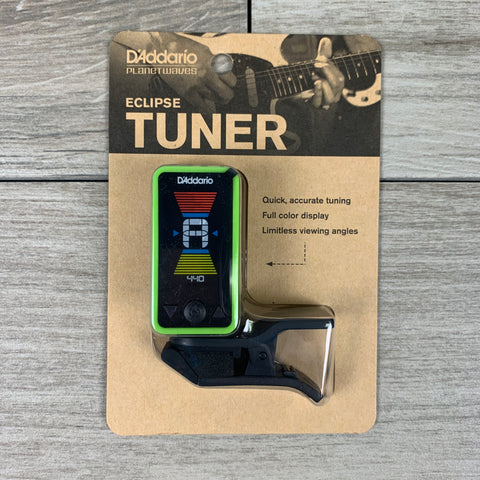 D'Addario Eclipse CT17 Headstock Tuner in Green