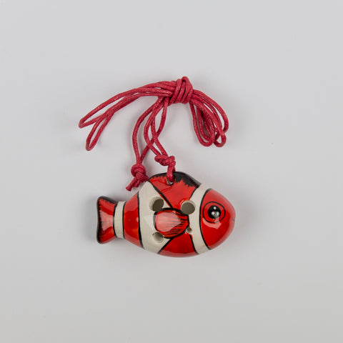Songbird Red Nemo Fish Ocarina