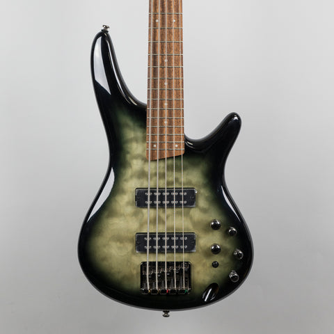 Ibanez SR405EQM-SKG 5-String Bass Guitar in Surreal Black Burst Gloss