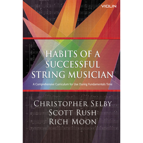 Habits of a Successful String Musician Violin Book