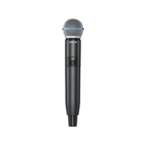 Shure GLXD24/B58A Digital Wireless Vocal System with Beta 58A Vocal Microphone