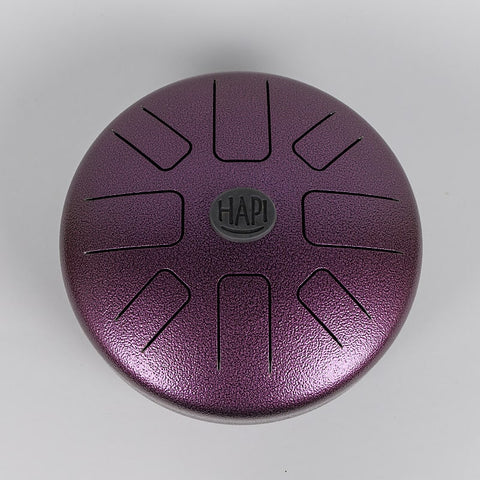HAPI Drums Aura Steel Tongue Drum B Akebono in Purple