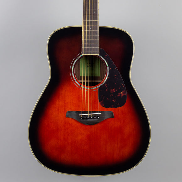 Yamaha FG830 Acoustic Guitar in Tobacco Brown Sunburst