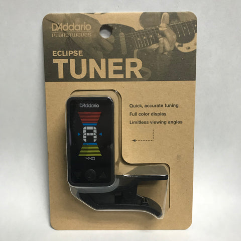 D'Addario Eclipse CT17 Headstock Tuner in Black