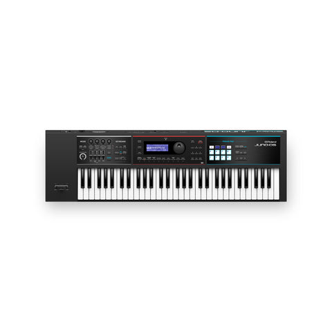 Roland JUNO-DS61 Synthesizer, 61-note, in Black