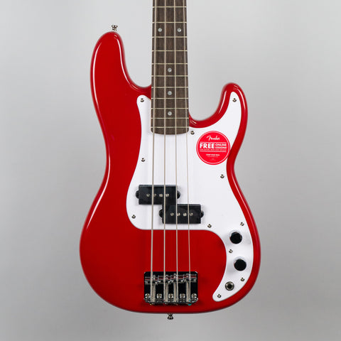 Squier Mini Precision Bass in Dakota Red