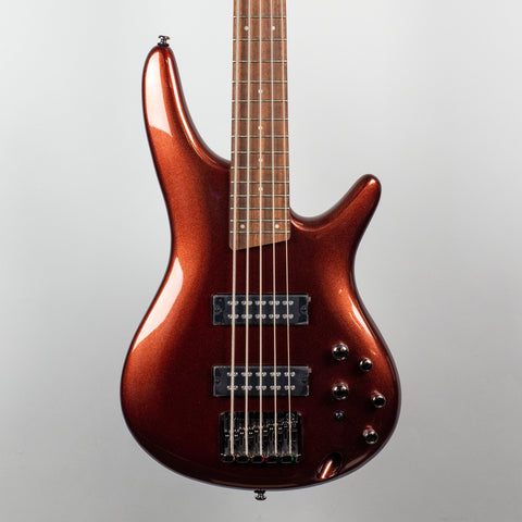 Ibanez SR305E 5-String Bass Guitar in Rootbeer Metallic
