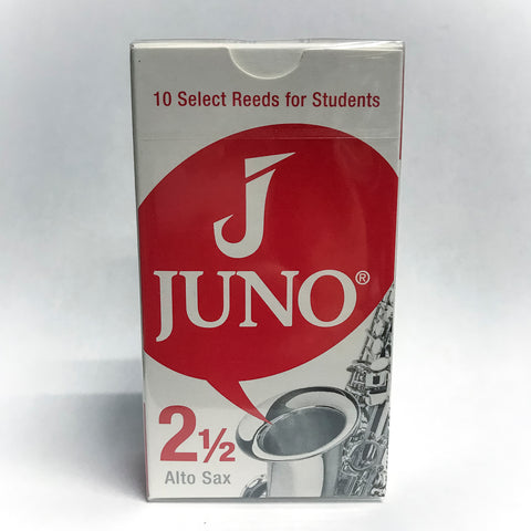 Juno Alto Saxophone Reeds Strength 2.5 (Box of 10)