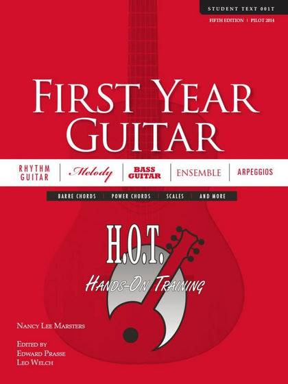 H.O.T. Hands-On Training First Year Guitar (No CD)