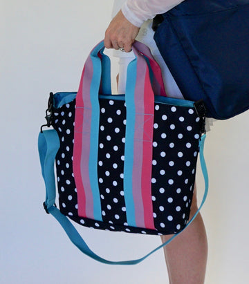 The Tote in Polka Dot - ON SALE