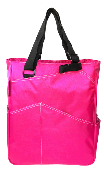 Tennis Tote in Fuchsia