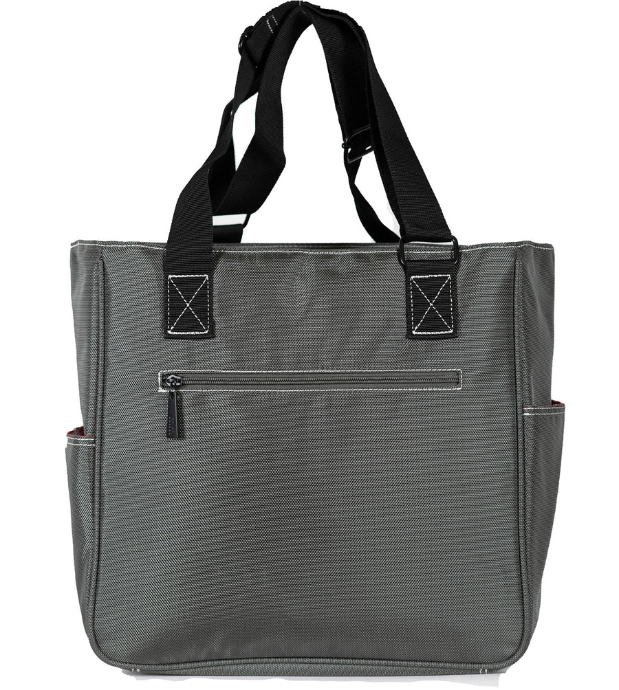Mini T-Tote in Pewter