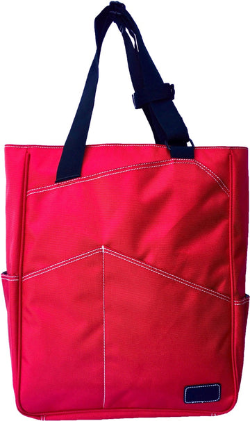 Tennis Tote in Red