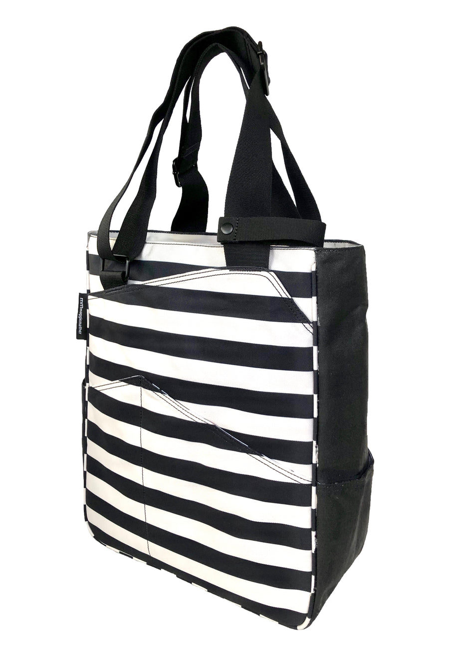 Tennis Tote in Stripes